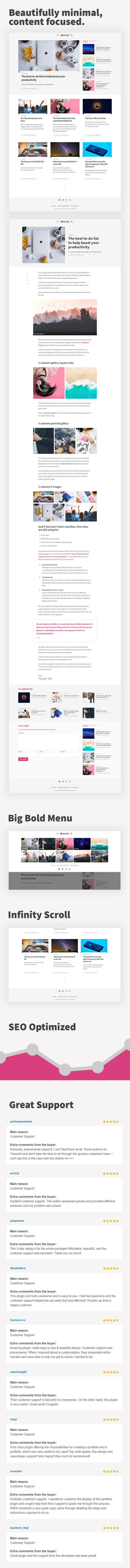 Kutak – Creative Blog & Minimal Magazine WordPress Theme (Blog / Magazine)